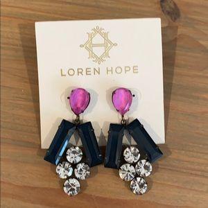 Loren Hope statement earring